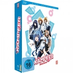 Kämpfer - Blu-ray Vol. 1 + Schuber + Manga Band 1 (Limited Edition)