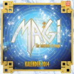 Magi - The Labyrinth of Magic - Wandkalender 2014